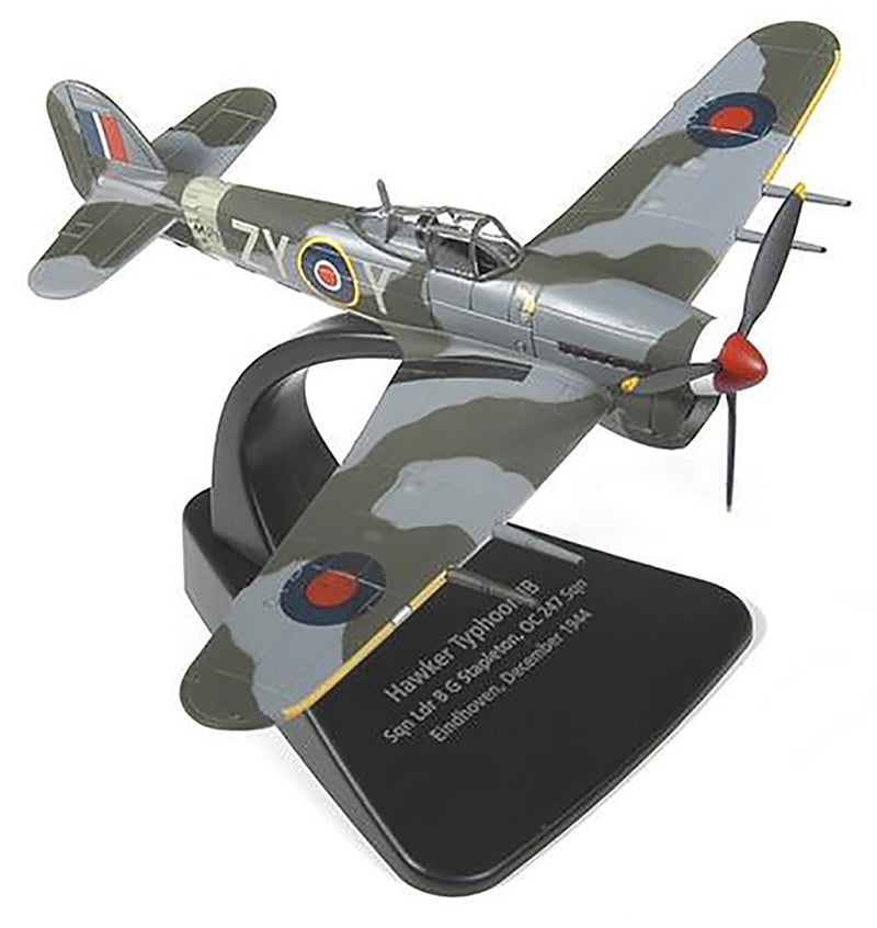 Hawker Typhoon No 247 Squadron RAF 1944, 1/72 Scale Model By Oxford Diecast