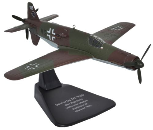 Dornier Do 335 Pfeil, 1:72 Scale Model By Oxford Diecast