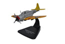 Douglas SBD-2 Dauntless,1:72 Scale Model By Oxford Diecast Left Front View