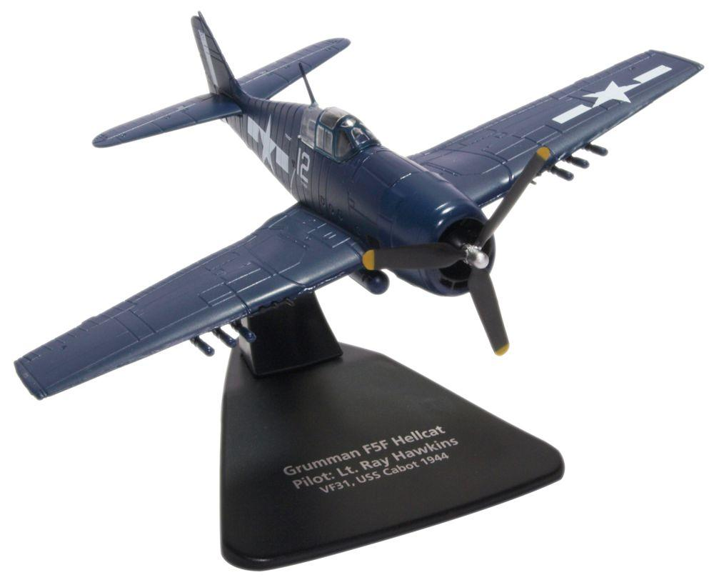 Grumman F6F Hellcat, 1:72 Scale Model By Oxford Diecast