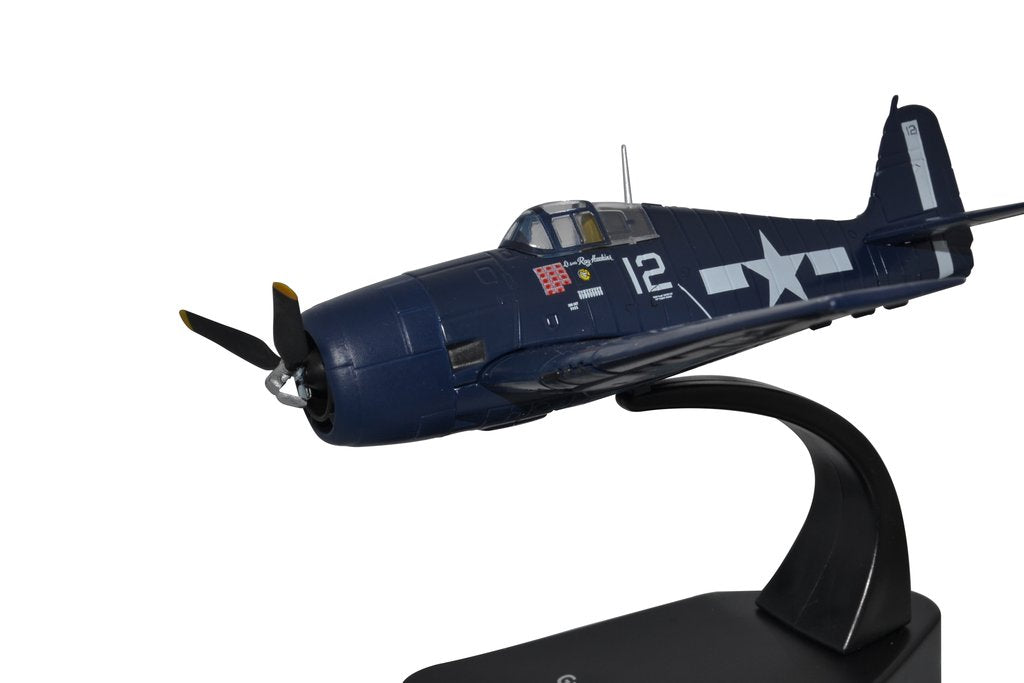 Grumman F6F Hellcat, 1:72 Scale Model By Oxford Diecast Left Side View