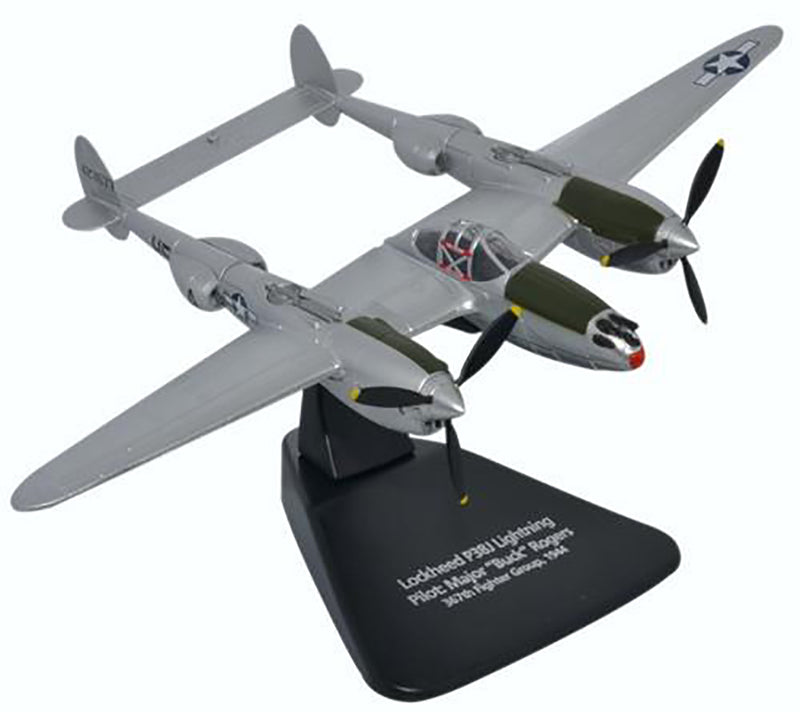 Lockheed P-38J Lightning 1944 1/72 Scale Model By Oxford Diecast