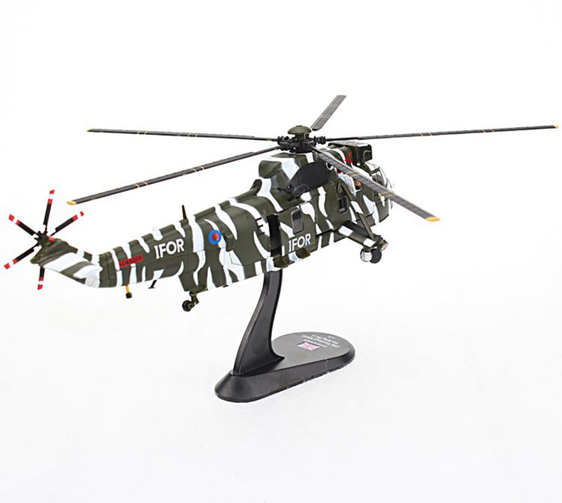 Westland WS-61 Sea King HC.4 Royal Navy 1996 1:72 Scale Model By Amercom Right Rear View