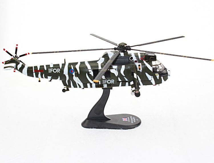 Westland WS-61 Sea King HC.4 Royal Navy 1996 1:72 Scale Model By Amercom Right Side View