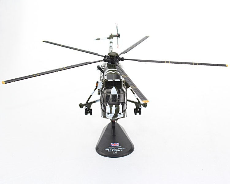 Westland WS-61 Sea King HC.4 Royal Navy 1996 1:72 Scale Model By Amercom Front View