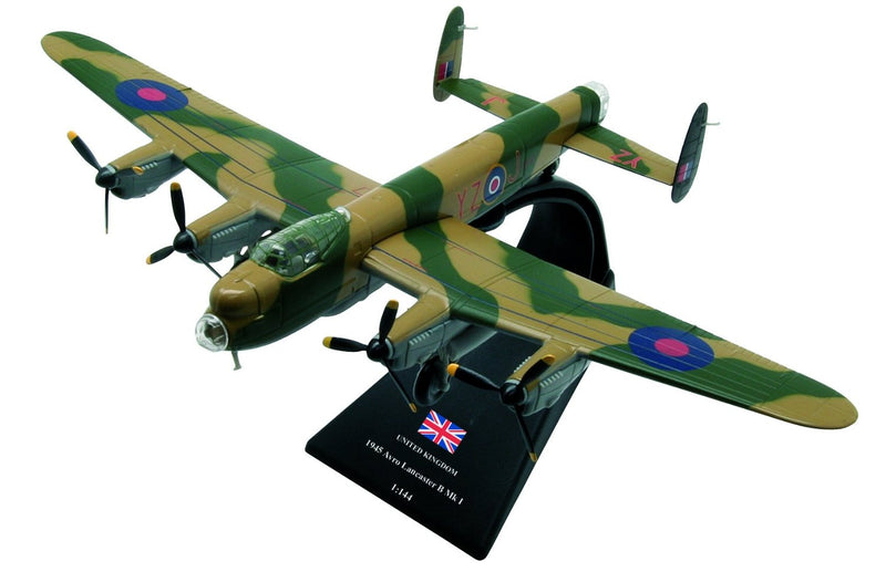 Avro Lancaster B Mk1 Royal Air Force 1945 1:144 Scale Model By Amercom