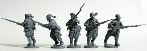 American Civil War Zouaves 1861-1865, 28 mm Scale Model Plastic Figures