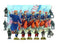 American Civil War Zouaves 1861-1865 (28 mm) Scale Model Plastic Figures