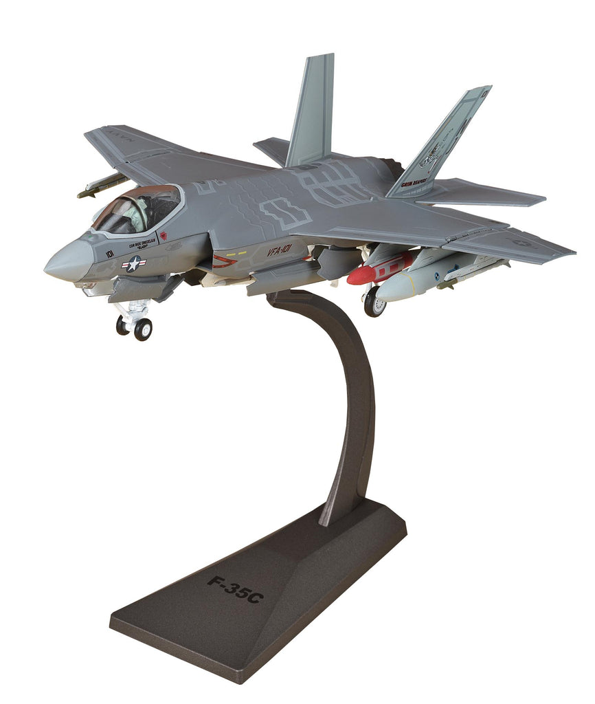 "Lockheed Martin F-35C Lightening II VFA-101 ""Grim Reapers"" 1:72 Scale Diecast Model By Air Force 1"