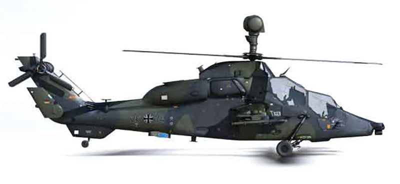 Eurocopter 665 Tiger 1/72 Scale Model Helicopter By AF1 Right Side Image