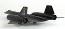 "Lockheed SR-71 Blackbird ""RIP"" 1/72 Scale Model By AF1 Rear View"