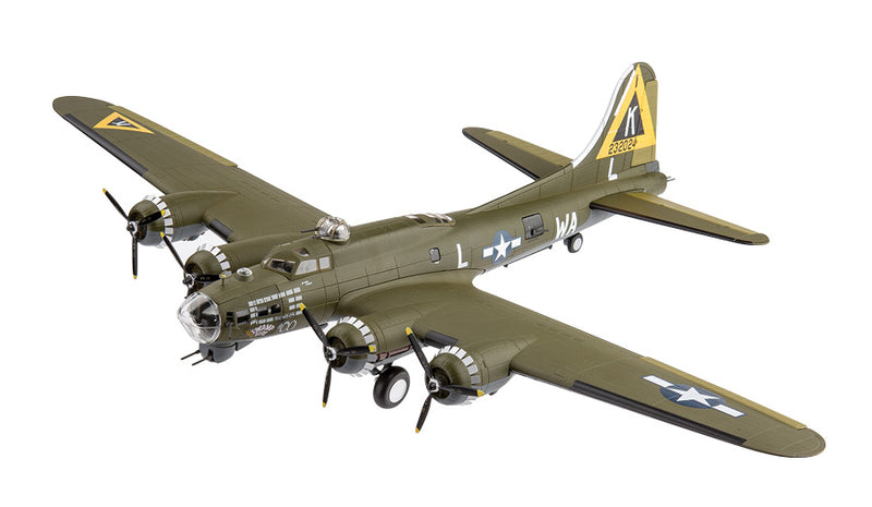 "Boeing B-17G Flying Fortress 524th Bombardment Squadron ""Swamp Fire""  1944 1:72 Scale Model By Air Force 1"