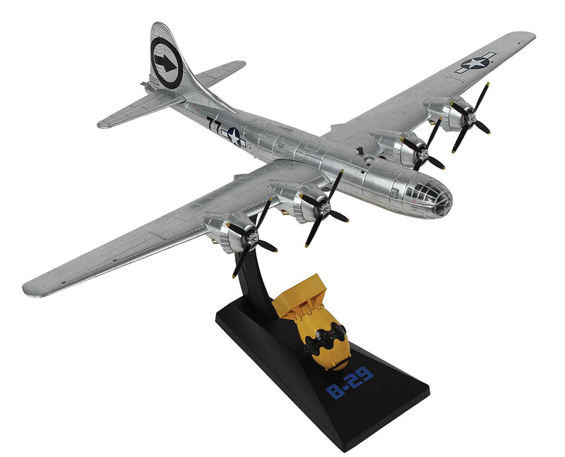 "Boeing B-29 Superfortress ""Bockscar"" 1/144 Scale Model By AF1 With ""Fat Man"""