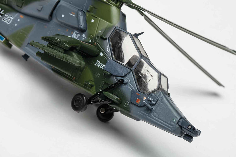 Eurocopter 665 Tiger 1/72 Scale Model Helicopter By AF1 Detail View