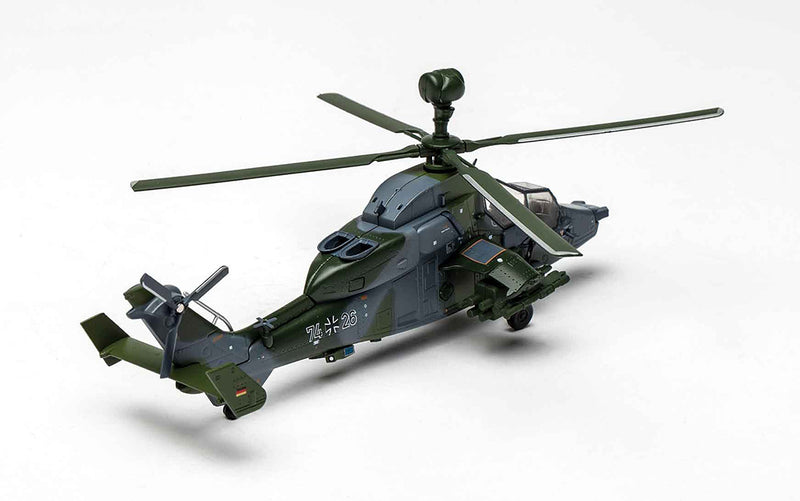 Eurocopter 665 Tiger 1/72 Scale Model Helicopter By AF1 Right Rear View