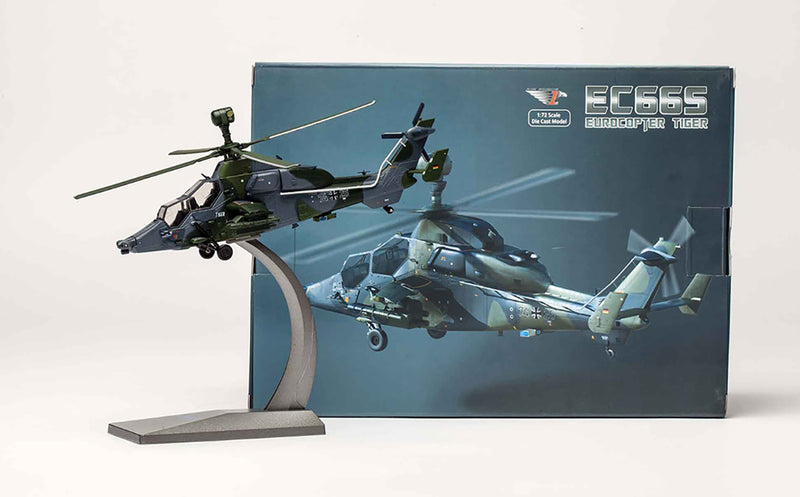 Eurocopter (Airbus) EC665 Tiger 1:72 Scale Diecast Model By Air Force 1