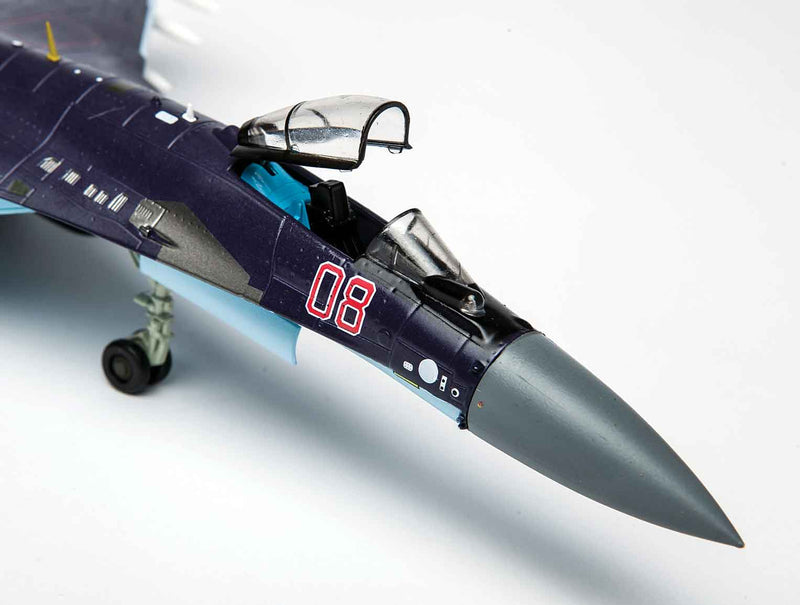 Sukhoi Su-35 Flanker E 1/72 Scale Model By Air Force 1 Nose Detail