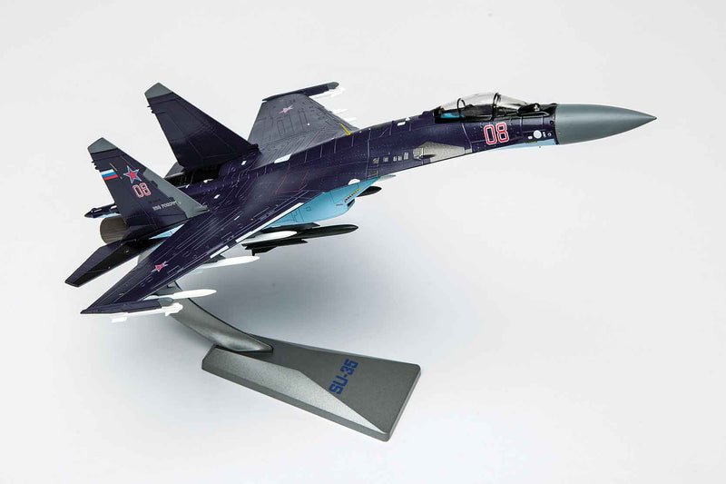 Sukhoi Su-35 Flanker E 1/72 Scale Model By Air Force 1 Right Front View