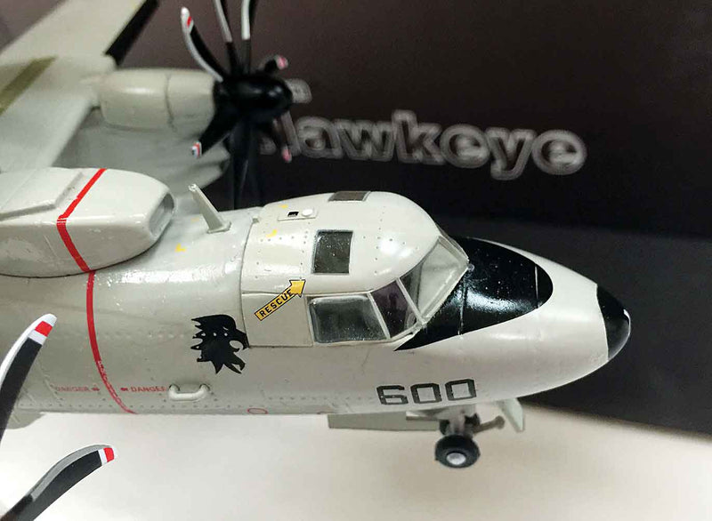 E-2C Hawkeye VAW-113 1998, 1/72 Scale Model By AF1 Cockpit Detail