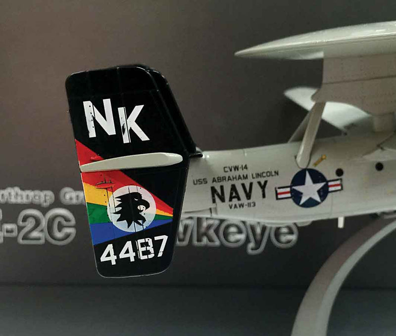 E-2C Hawkeye VAW-113 1998, 1/72 Scale Model By AF1 Tail Detail