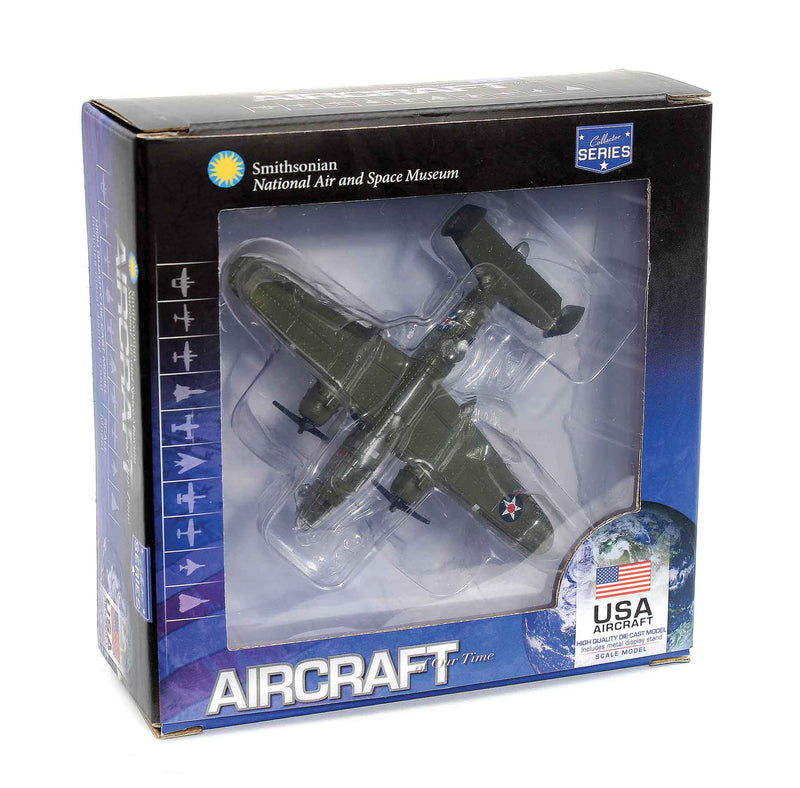North American B-25B Mitchell Doolittle Raid 1942, 1:200 Scale Diecast Model By Air Force 1 Box