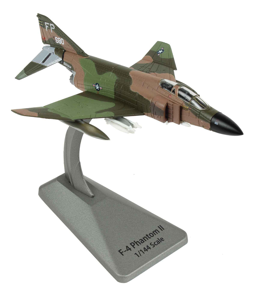 "McDonnell Douglass F-4 Phantom II ""Operation Bolo"" 1:144 Scale Diecast Model By Air Force 1"
