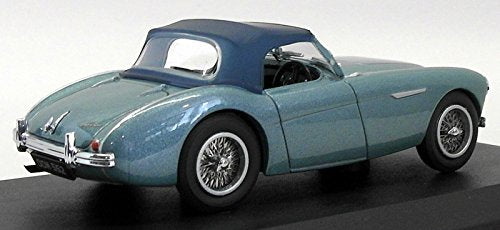 Austin Healy 100 BN1 Healey Blue 1953 ,1:43 (O) Scale Model Right Rear View