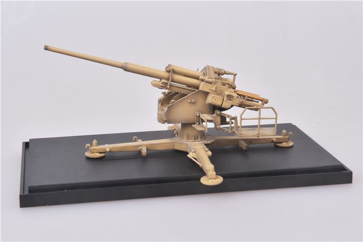 12.8 cm Flak 40 Anti-Aircraft Gun Germany 1944 1:72 Scale Model  By Modelcollect On Base