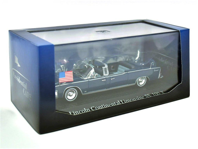 Lincoln Continental Limousine SS-100-X, 1:43 Scale Diecast Model By Atlas Editions Box