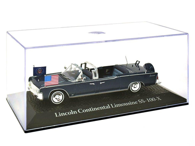 Lincoln Continental Limousine SS-100-X, 1:43 Scale Diecast Model By Atlas Editions Case