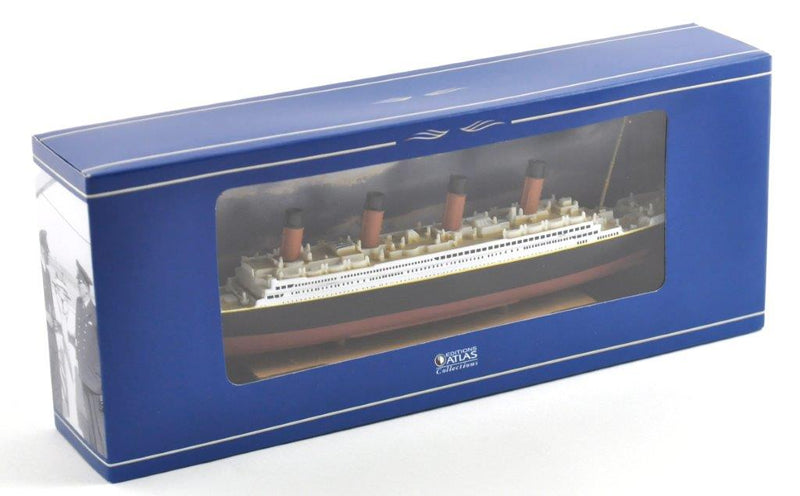 RMS Titanic 1:1250 Scale Diecast Model By Atlas Editions Box