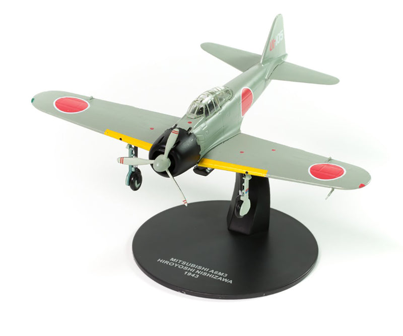 Mitsubishi A6M3 Zero Fighter 251st Air Group 1/72 Scale Model By Atlas Editions