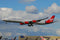 Airbus A340-600 Virgin Atlantic (G-VNAP) Landing London Heathrow 2011