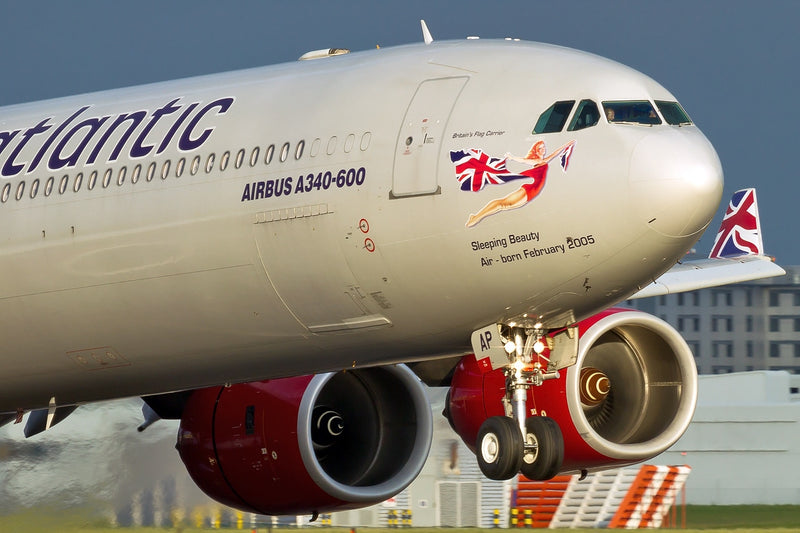 Airbus A340-600 Virgin Atlantic (G-VNAP)