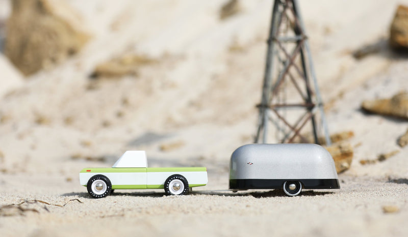 Aluminum Airstream Camper By Candylab Toys  Off Road
