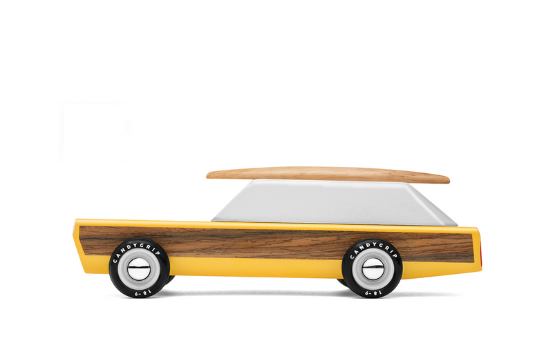 Woodie Wooden Car By Candylab Toys