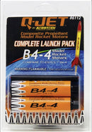 B4-4 Q-Jet Model Rocket Motor (2-Pack) By Quest Aerospace