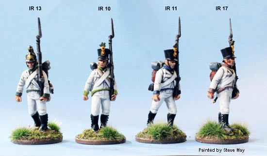 "Napoleonic Austrian ""German"" Infantry 1809 - 1815 28 mm Scale Model Plastic Figures"