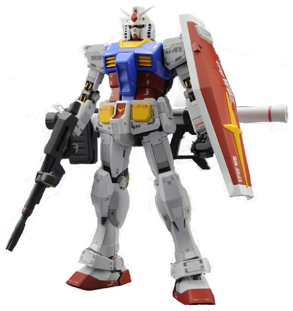 Gundam Master Grade  RX-78-2 Ver 3.0 1/100 Scale Model Kit By Bandai
