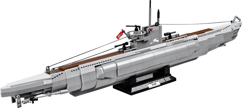 U-Boot U-48 Type VIIB Submarine, 800 Piece Block Kit