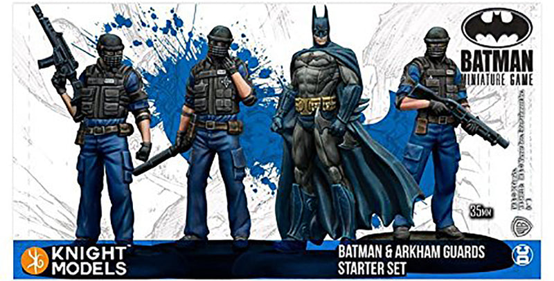 Batman Miniature Game, Batman & Arkham Guards Starter Set