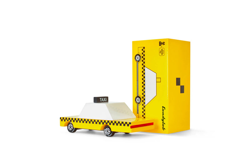 Yellow Taxi By Candylab Toys Box