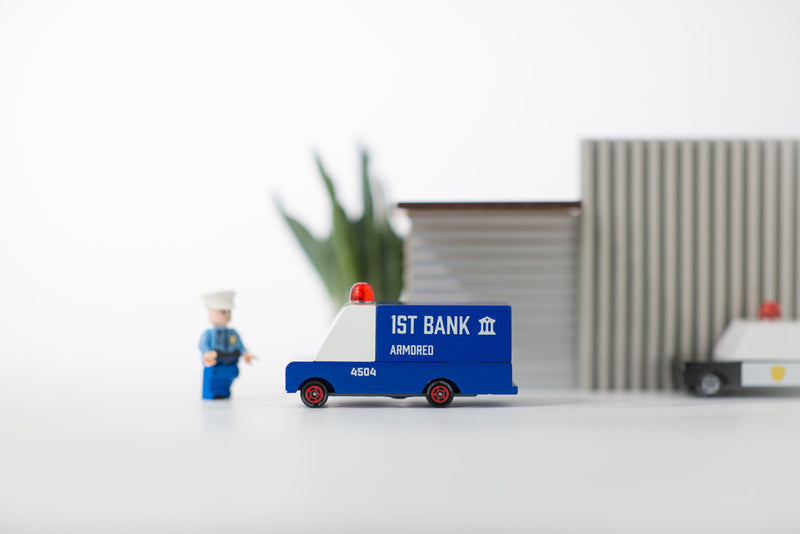 Armored Bank Van By Candylab Toys Lifestyle