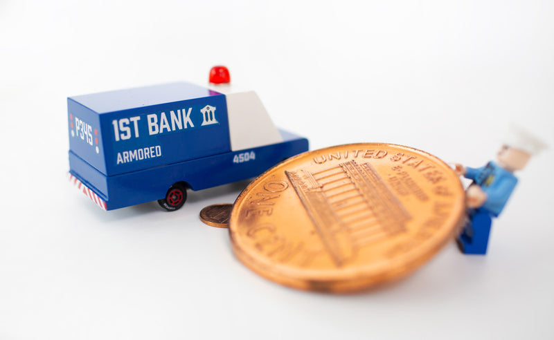 Armored Bank Van By Candylab Toys