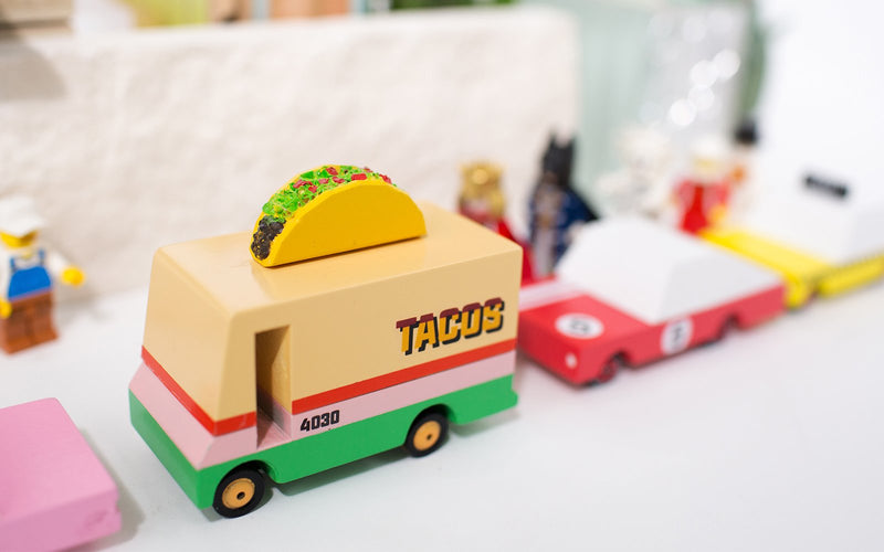 Taco Van By Candylab Toys Diorama