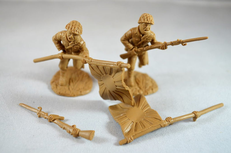 Japanese Infantry World War II, 1/32 (54 mm) Scale Model Plastic Figures