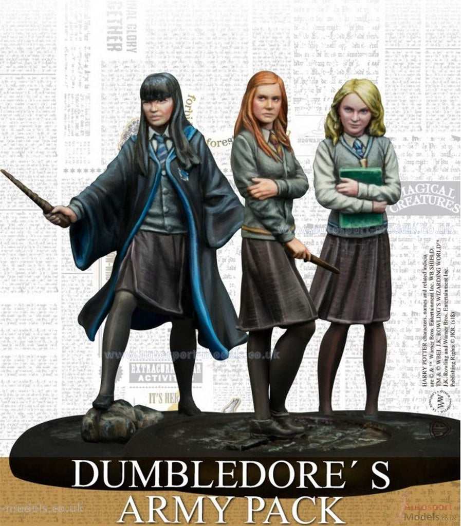 Harry Potter Miniatures Adventure Game, Dumbledore's Army By Knight Models