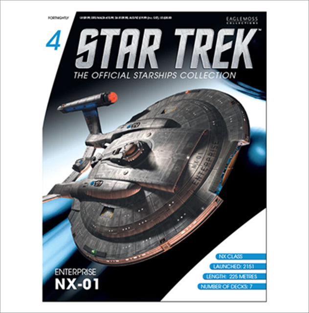 Eaglemoss Star Trek Starships Enterprise NX-01 Magazine