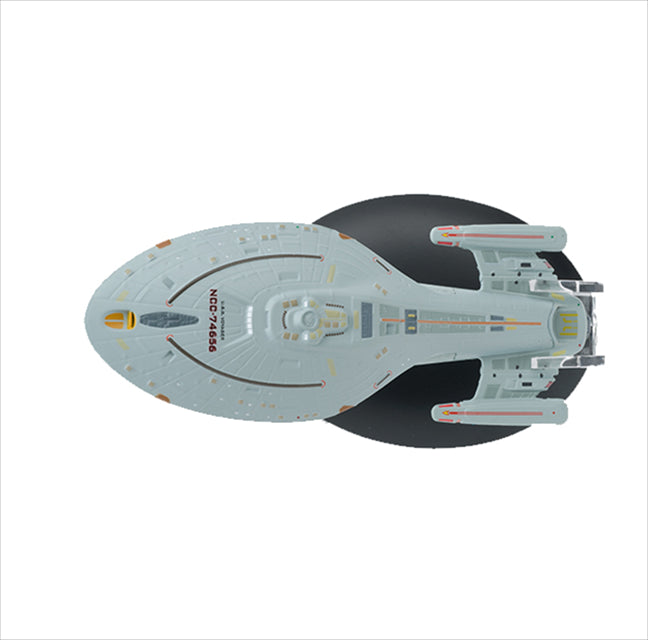 Eaglemoss USS Voyager Issue 06 Top View