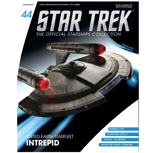 Eaglemoss Starship Intrpeid Magazine